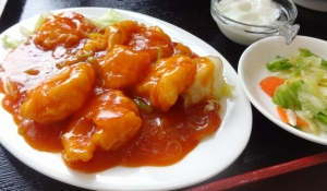 中華料理 成記でランチ
