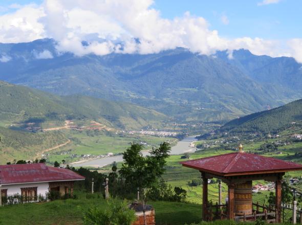 ブータン景色
