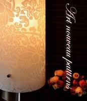 テーブルランプ  レトロ/アールデコ調 花柄