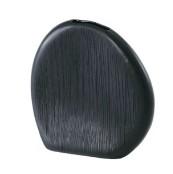 花器(花瓶/フラワーベース) エフ ナニー 長さ20cm 穴無し ブラック(黒)