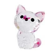 SWAROVSKI(スワロフスキー) キュートな子猫シリーズ アメリカンショートヘア 「ミーリー」 クリスタル フィギュア