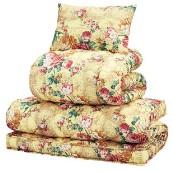 極厚敷布団付き寝具セット 【シングルサイズ 3点セット/ベージュ】 掛け布団・枕セット