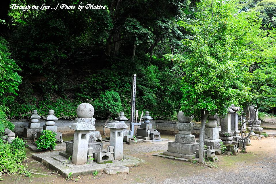 歴代住職の墓1