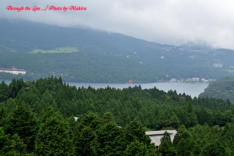 箱根峠からの芦ノ湖56D1