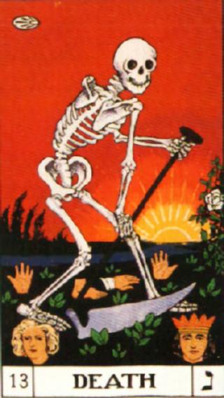 タロットカード死神 by占いとか魔術とか所蔵画像