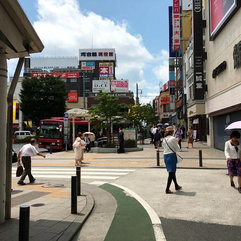 梅雨明けしたと思われる東京の街中2017年7月12日1 by占いとか魔術とか所蔵画像