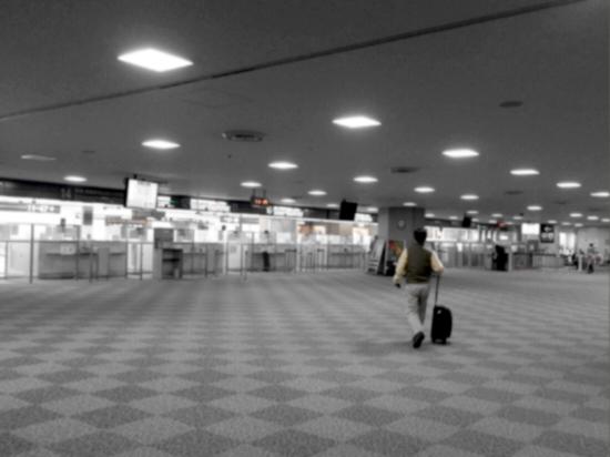 成田出国 (2)