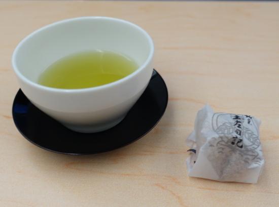 ANA昼食茶