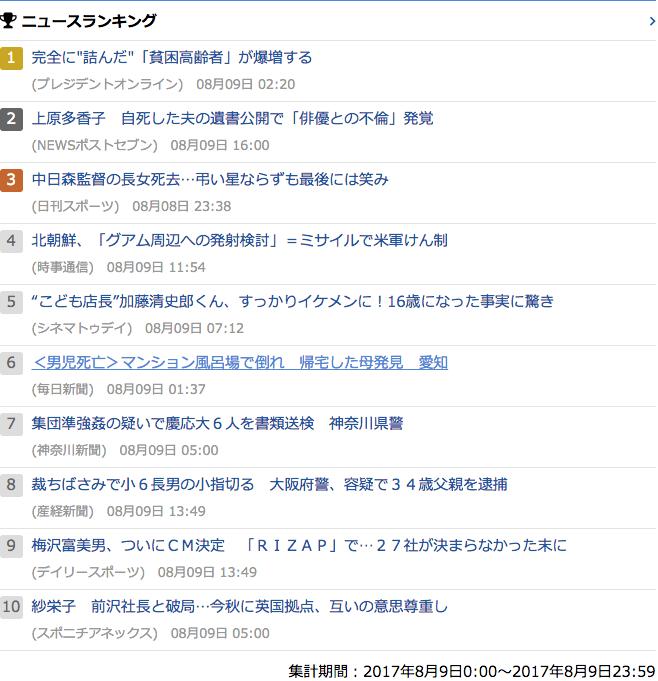 2017-08-09_水_gooランキング