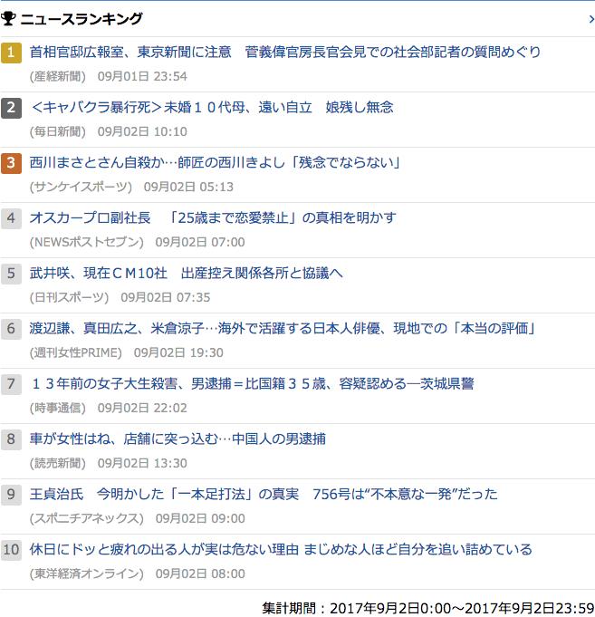 2017-09-02_土_gooランキング