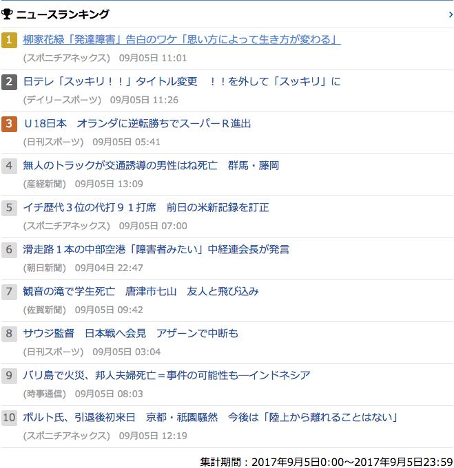 2017-09-05_火_gooランキング