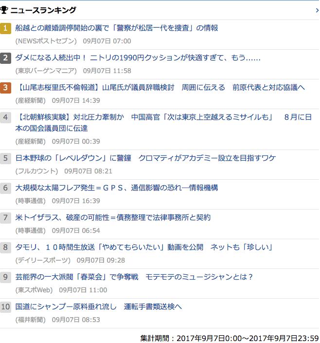 2017-09-07_木_gooランキング