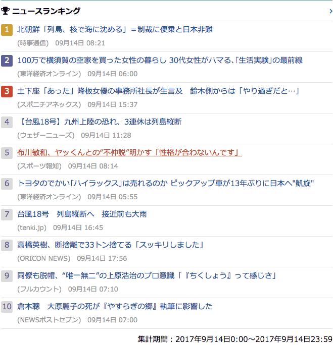 2017-09-14_木_gooランキング
