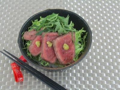 牛たたき丼