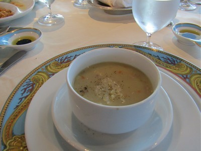 2017 ポテトとパンチェッタのスープ