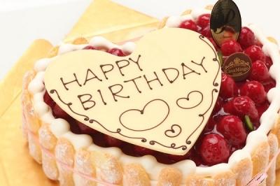 誕生日ケーキ20170908