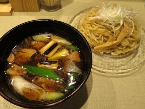 鴨と葱つけ麺