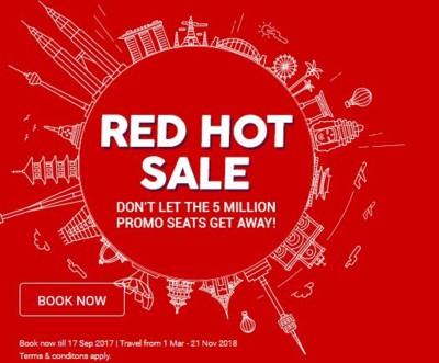 Red hot sale AirAsia