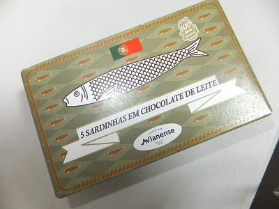 オイルサーディンのチョコ