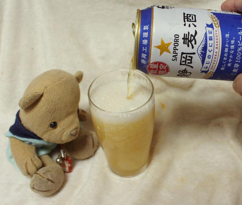 静岡麦酒を注ぐ 170807