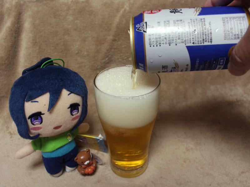 静岡麦酒を注ぐ 松浦果南 170917