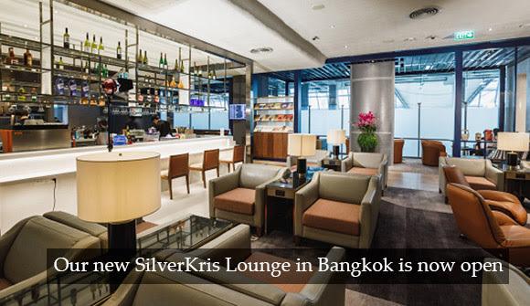 シンガポール航空、バンコク・スワンナプーム空港のシルバークリスビジネスクラスラウンジオープン