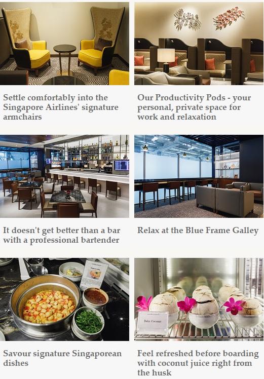 シンガポール航空、バンコク・スワンナプーム空港のシルバークリスビジネスクラスラウンジオープン1