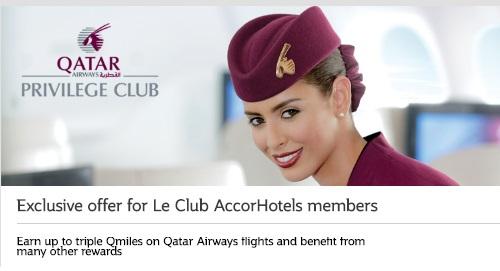 カタール航空 ビジネスクラスでトリプルマイル&エコノミークラスでダブルマイル