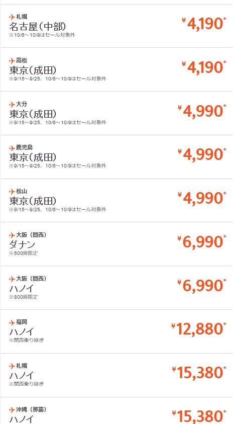 ジェットスター 【24時間限定!】ベトナム新規就航SALE