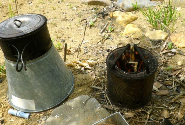 炭作り・火入れ