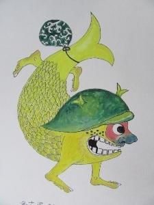 金シャチ妖怪
