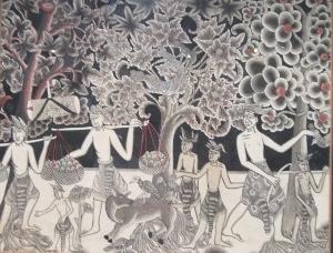 バリの画家の作品 (2)