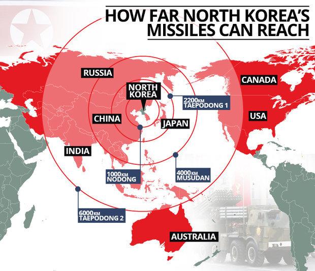 北朝鮮ミサイル3