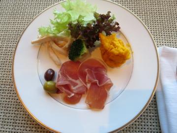 クラブラウンジでの朝食 (2)