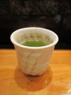 美味しいお茶は常に熱い状態で入れ替え