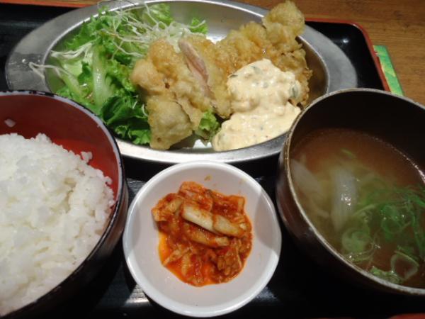7/9 べじとん・チキン南蛮