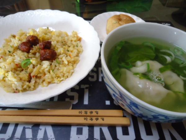 5/12 家食・炒飯&餃子スープ