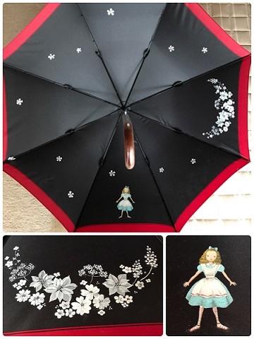 49アリスの傘
