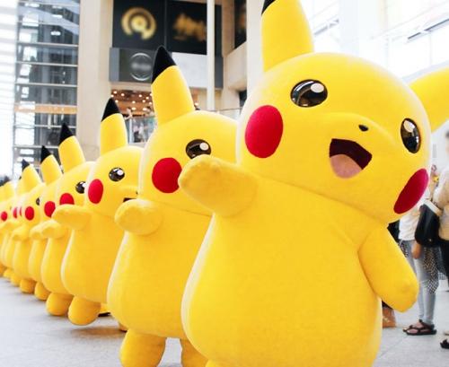 【かわいい】1500匹のピカチュウが横浜をジャック『ピカチュウ大量発生チュウ!』8月9日から15日まで