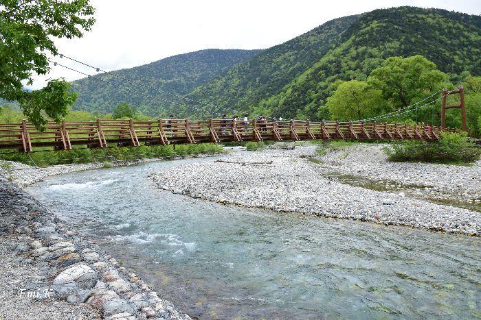 168-Emi-梓川に架かる明神橋