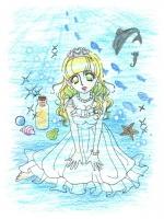 冷たい水の中の姫