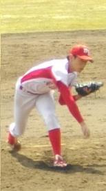 トヨタ・山崎投手