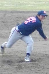前沢・四谷投手