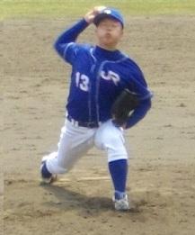 JR・前川投手