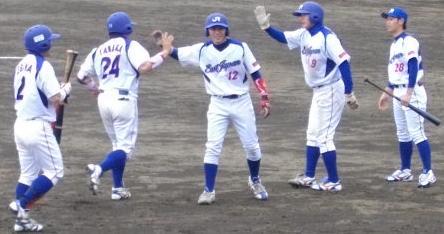 JR田中選手本塁打