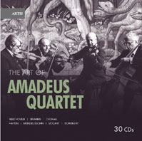 アマデウス弦楽四重奏団の芸術 1950-1966