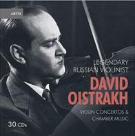 Legendary Russian Violinist David Oistrakh Violin Concertos Chamber Music【最安値30CD】デイビッド・オイストラフ・アンソロジー バイオリン協奏曲&室内楽曲集