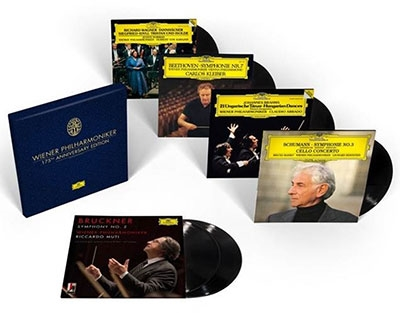 Wiener Philharmoniker 175th Anniversary Edition【最安値6LP】ウィーン・フィルハーモニー管弦楽団創立175周年記念