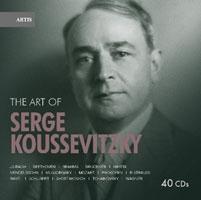 The Art of Serge Koussevitzky【最安値40CD】セルゲイ・クーセヴィツキーの芸術