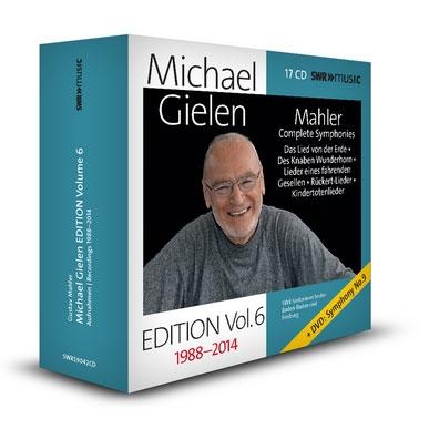 Michael Gielen Edition Vol.6 Mahler Complete Symphonies【最安値17CD_DVD】ミヒャエル・ギーレン・エディション 第6集 マーラー交響曲全集 歌曲集